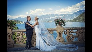 Como Wedding. Beautiful wedding on Como Lake, Italy. Перезалито для сайта.