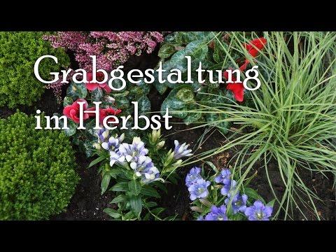 Grabgestaltung und Grabpflege im Herbst - Videotipp
