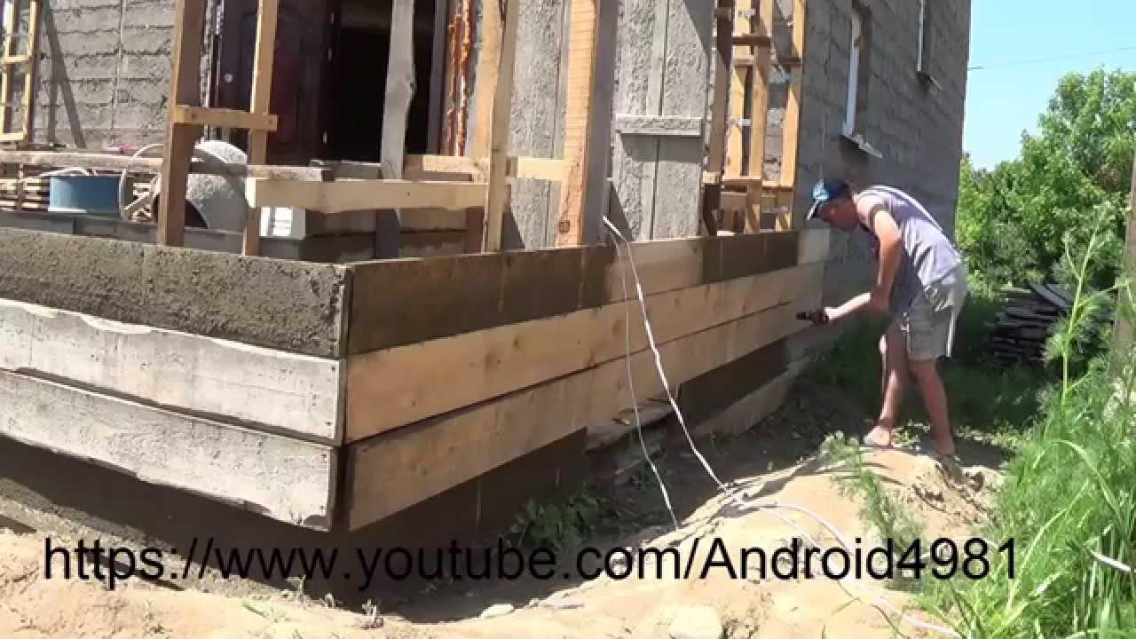 Дом из монолитного опилкобетона своими руками 86