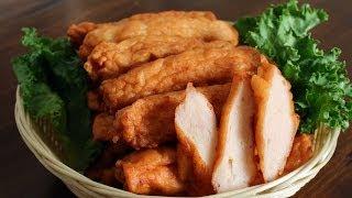 Homemade fish cakes (Eomuk: 어묵)