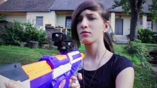 NERF WAR LIVE ACTION : THE EVIL EASTER BUNNY
