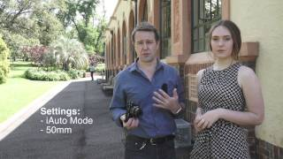 Capture Professional Looking Portraits with a Sony Alpha Camera and Kit Lens