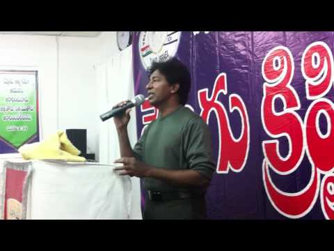 Song By Sampathkumatr Telugu Christian Church In Israel video