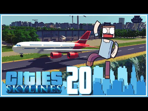 Cities Skylines - Ep.20 : The Airport!