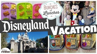 Lunches at DISNEYLAND! || Bunches Of Lunches Week 8