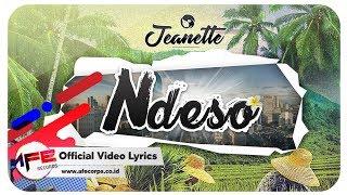 download lagu Jeanette - Ndeso   Lyric gratis