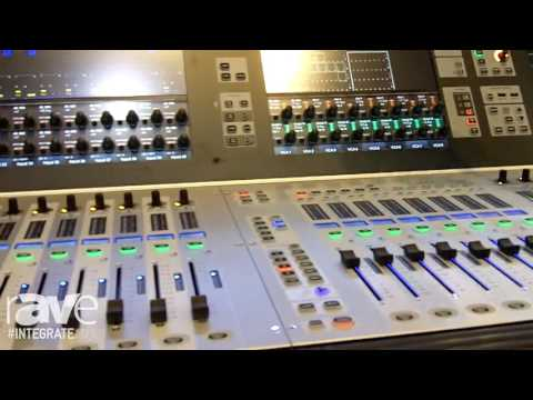 Integrate 2016: Soundcraft Demos the Vi2000 Console with Shure Mic Integration on the Jands Stand