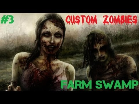 Custom Zombies - Farm Swamp: Searching the Map for Easter Eggs (Part 3)