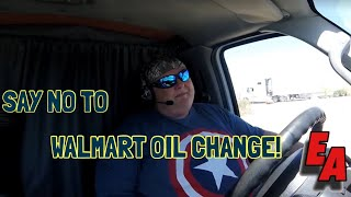 Expediting - Walmart Oil Change Never Again