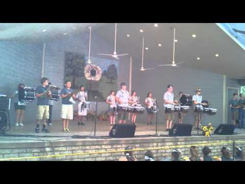Mulvane Drumline (Old Settlers Festival-August 18th 2012)