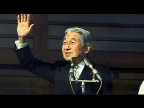 Japan's Emperor Akihito sends best wishes for 2012 - no comment