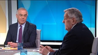 Shields And Brooks On Trump 39 S National Emergency Democratic Platform Shift