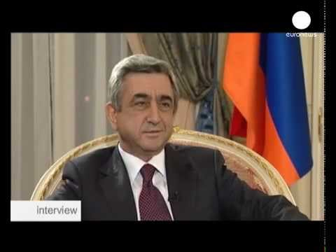 Armenias President on Turkey,Genocide & Nagorno Karabakh