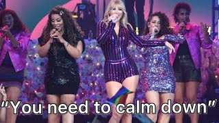 """Taylor Swift's FIRST Live Performance """"You Need to Calm Down"""" REACTION!!!"""