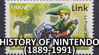 The History of Nintendo (1889-1991)