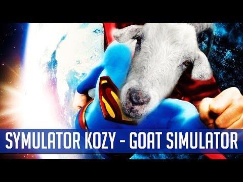Symulator Kozy Goat Simulator Lecimy w kosmos i gramy w Flappy Bird