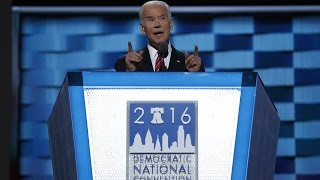 Watch VP Joe Biden's full speech at the 2016 Democratic National Convention