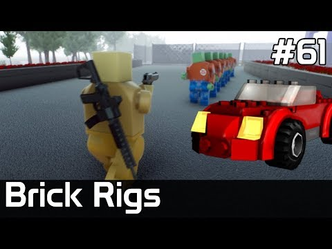 Brick Rigs PL [#61] SETKI ZOMBIE W MIEŚCIE /z Plaga