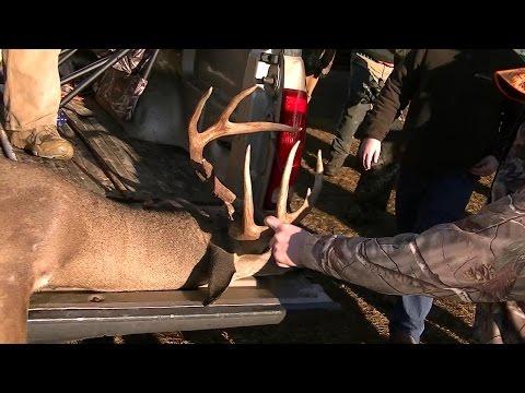 9 Point Buck taken on the Maysville Management Hunt! SC Deer Drives 2014