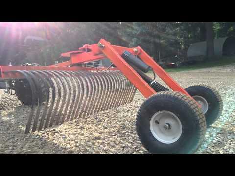 Atv Utv Pull type Driveway drag grader landscape rake DIY