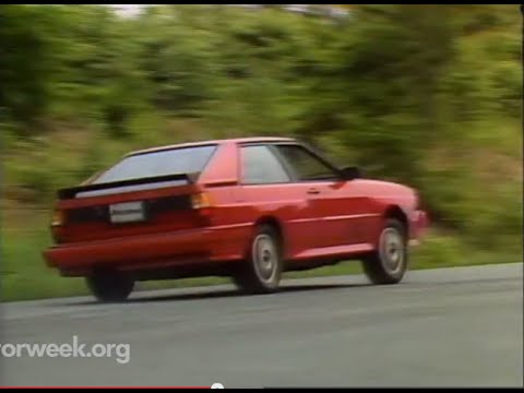 MotorWeek   Retro Review: '83 Audi Quattro