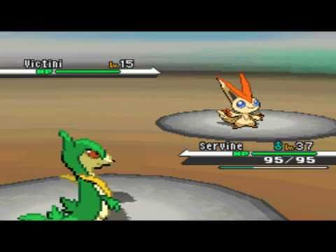 Pokemon Black and White : English Liberty Pass Event (Victini) HD