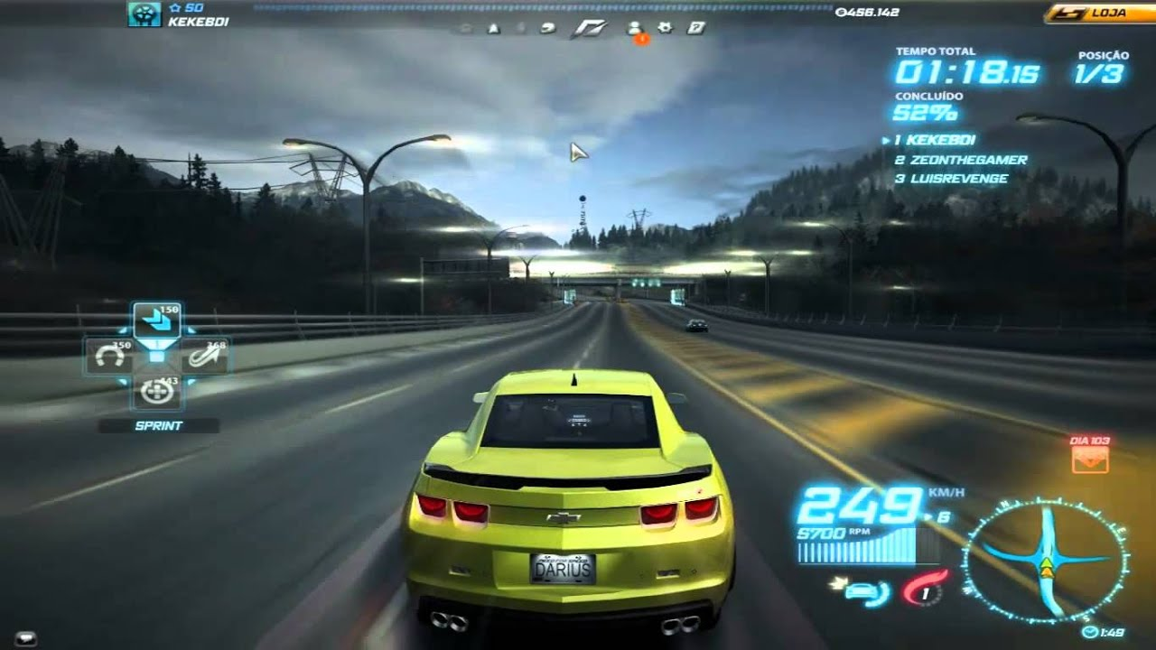 Need For Speed World Camaro Zl1 Youtube