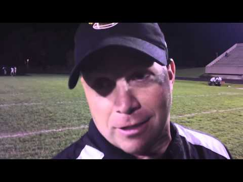 Bishop Dwenger High School quarterback Mike Fiacable - 10/12/2013