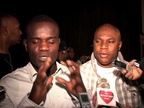 Joshua Clottey talks Manny Pacquiao at Madison Square Garden Press Conf. 1/20/10 Video