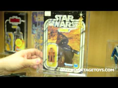 New RARE Graded Star Wars at Dallas Vintage Toys