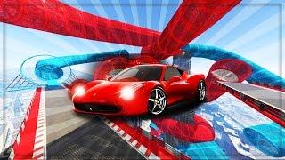 GTA 5 ONLINE - WORLDS HARDEST STUNT RACES!! (GTA 5 DLC ONLINE GAMEPLAY)