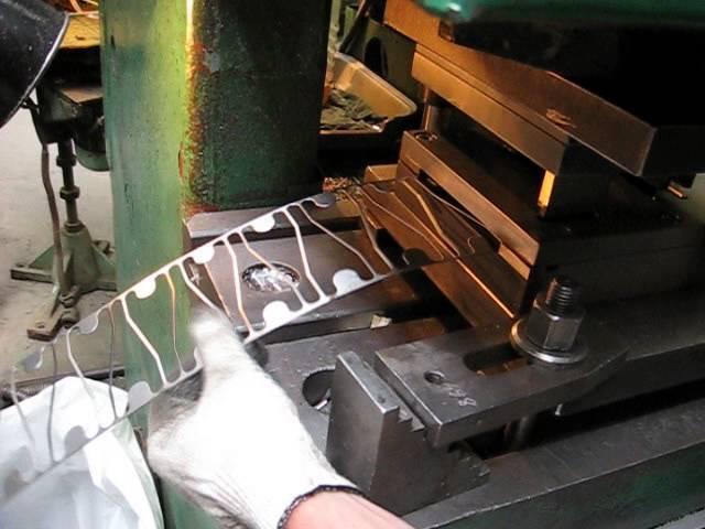 Штамповочный пресс для металла своими руками