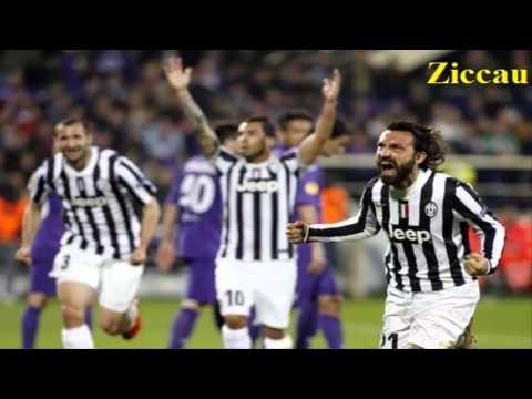 Fiorentina-Juventus 0-1 Zuliani Ottavi di ritorno Europa League 20-3-14