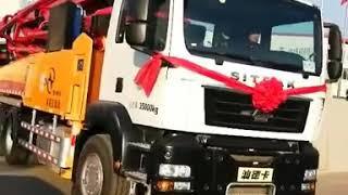 47m concrete pump truck delivery
