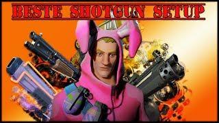 BESTE SHOTGUN SETUP , BURST , AOE , SINGEL DPS  | Fortnite Rette Die Welt