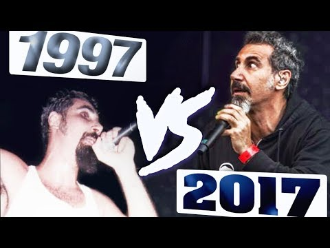 System Of A Down - 1997 vs 2017