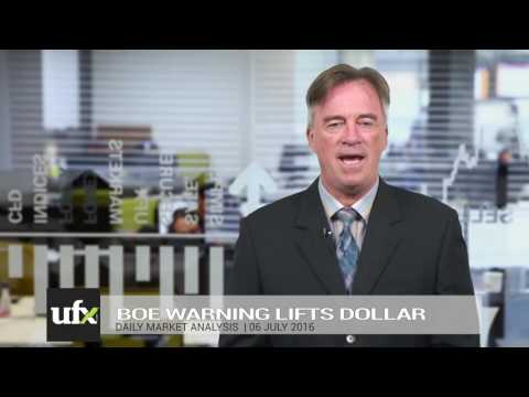 UFX Daily Forex Currency Trading News 06-July-2016