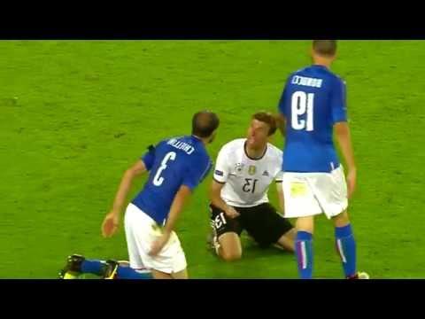"Thomas Müller blames Giorgio Chiellini ""Don't be such a pussy"" Germany vs. Italia Euro 2016"