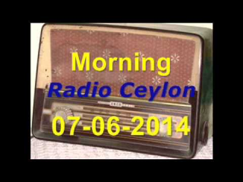 Radio Ceylon 07-06-2014~Saturday Morning~02 Purani Filmon Ka...
