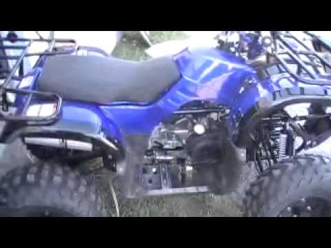 Coolster 3150 DX2 Chinese ATV Build and First Start