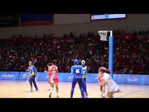 Behind Singapore Netball Team's Gold medal success at the 28th SEA Games