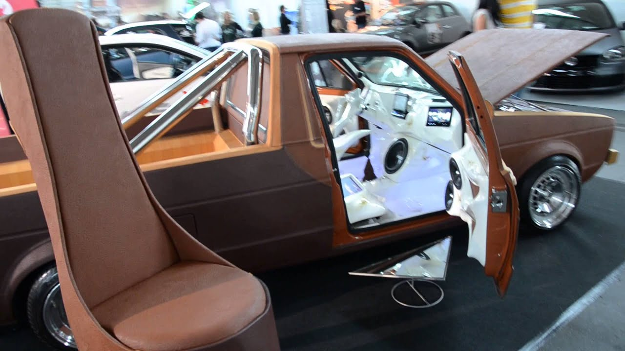 vw caddy mk1 auf der tuning expo 2013 youtube. Black Bedroom Furniture Sets. Home Design Ideas