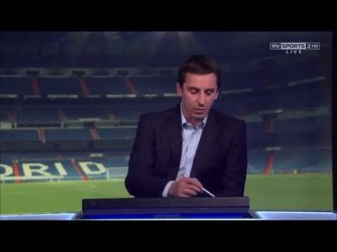 Gary Neville excellent analysis of Cristiano Ronaldo