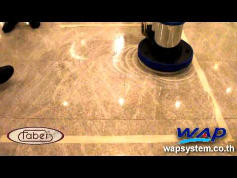 How to Marble Floor Polishing : Patong Resort Hotel Wap System
