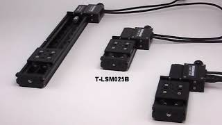 Zaber's T LSM Miniature Motorized Linear Stages with Built in Controllers