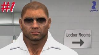 تختيم WWE SVR 2011 الطريق الى الراسلمينيا : قصة ري ميستريو #1 ( صار لميستريو حادث سيارة !!! ) ♦♠