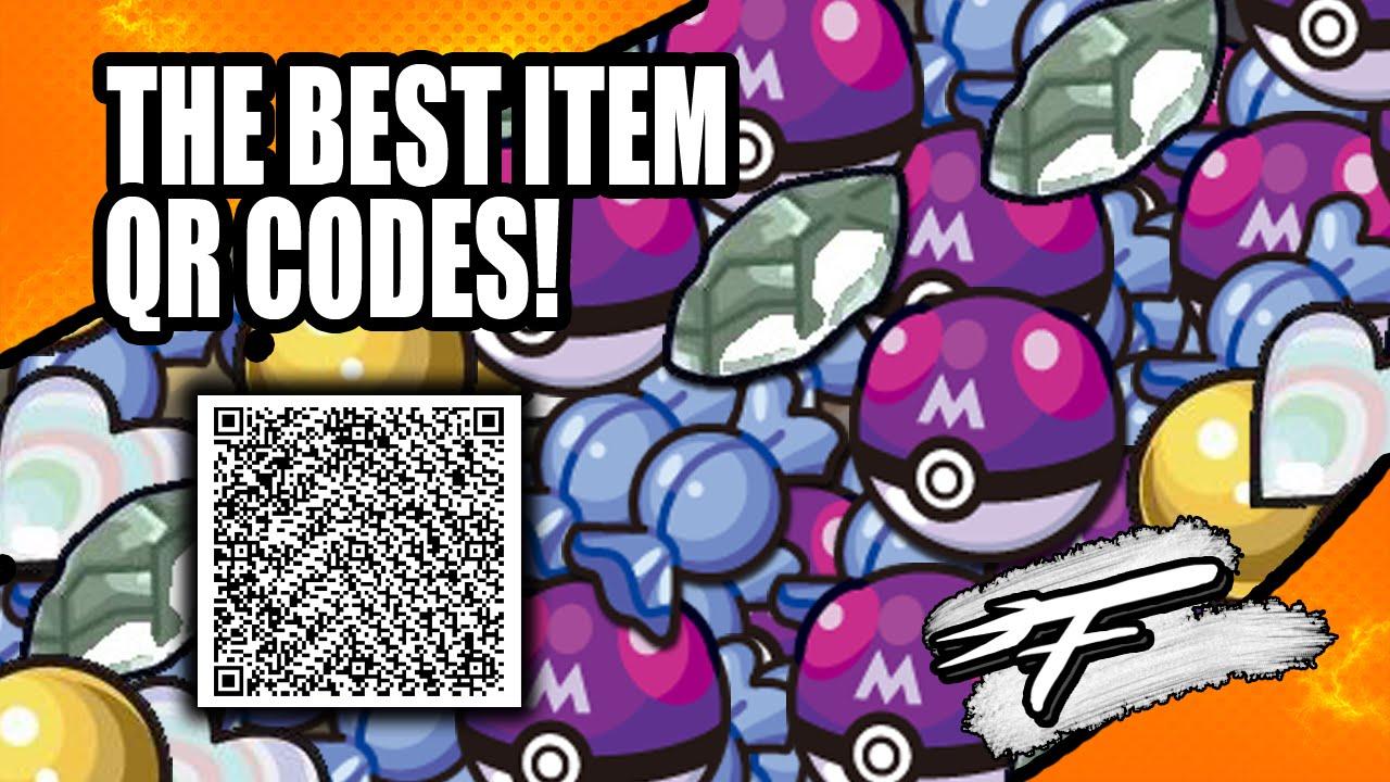 Pokemon Item qr Codes qr Codes For Pokémon xy