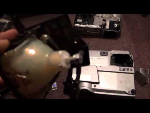 Hitachi projector repair