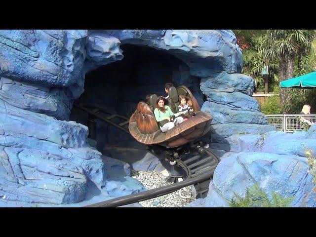 Crush's Coaster & Cars Race Rally Overview at Toon Studio, Walt Disney Studios, Disneyland Paris