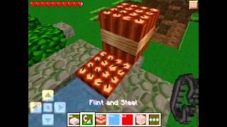 Hvordan laver man en tnt kanon i minecraft pe.